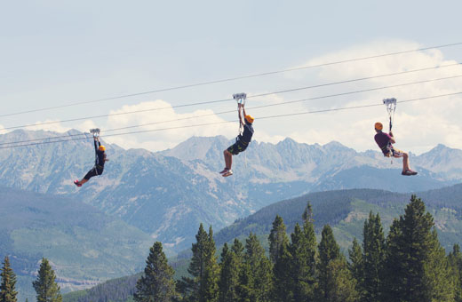Ski resorts offer summer fun as they look toward a water-short future