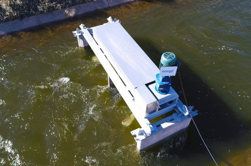 Micro-turbines are being tested by Denver Water in a canal that runs from Gross Reservoir to Ralston Reservoir.