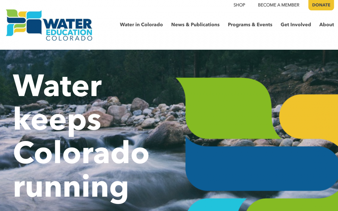 Coming Soon – Water Education Colorado Website