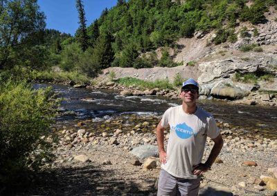 Kent Vertrees is a former river guide. He teaches river skills at the Colorado Mountain College. He was the recreational rep on the Yampa/White/Green Basin Roundtable and was on the subcommittee for the city's stream management plan. Photo by Maeve Conran.