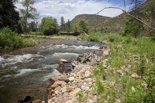 The St. Vrain River in Boulder County