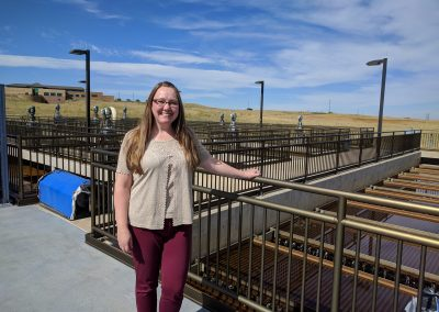Dawn Jewell, water resource supervisor for Aurora's South Platte River Basin Program.