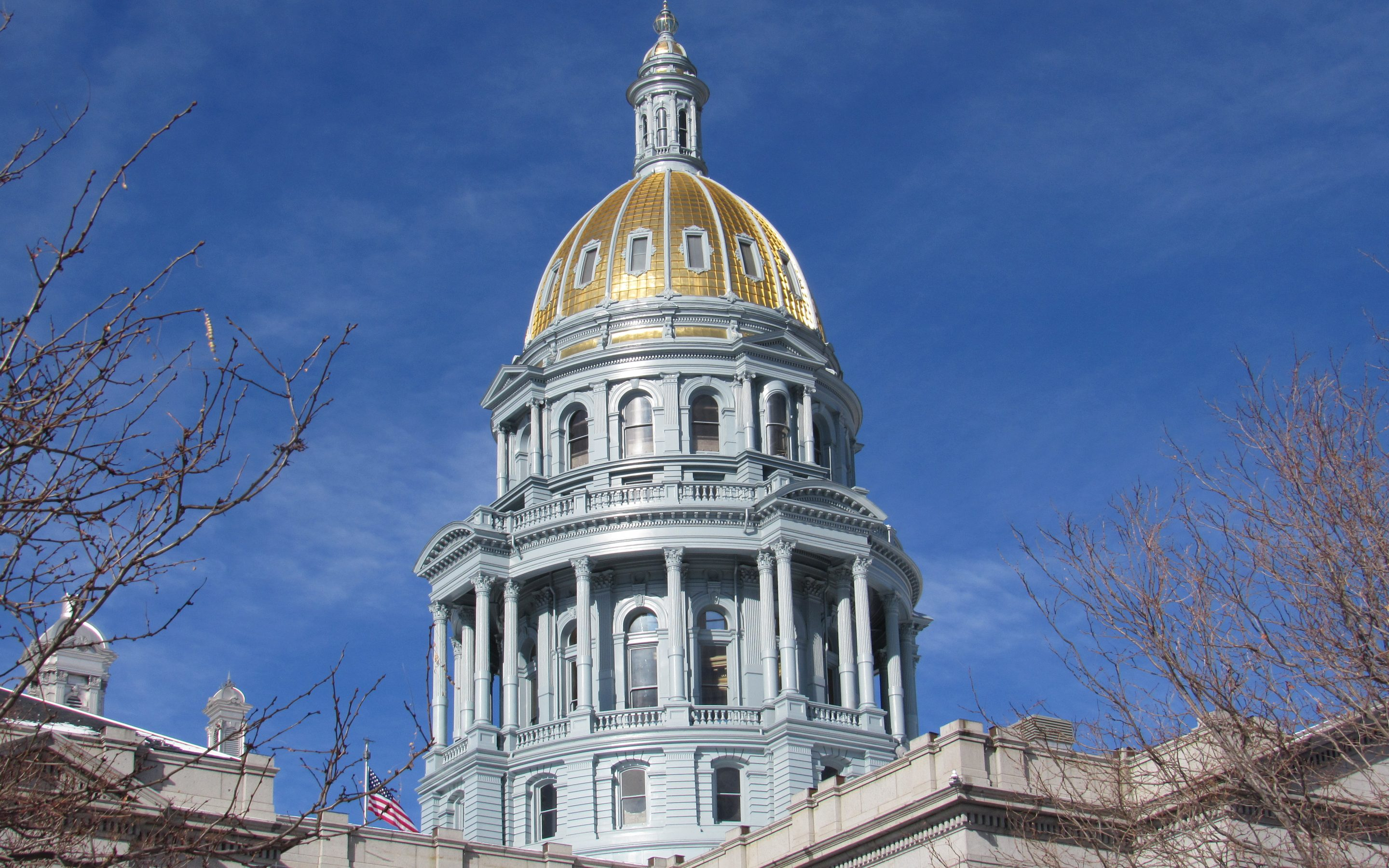 Colorado Capitol Dome, pictured here Jan. 30, 2019