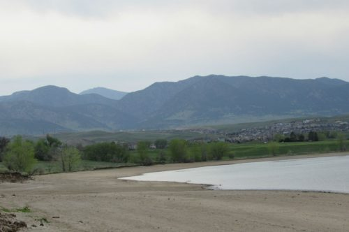 Standley Lake in Westminster. May 14, 2019. As Colorado emerges from drought this year, its reservoirs are struggling to refill. Credit: Jerd Smith