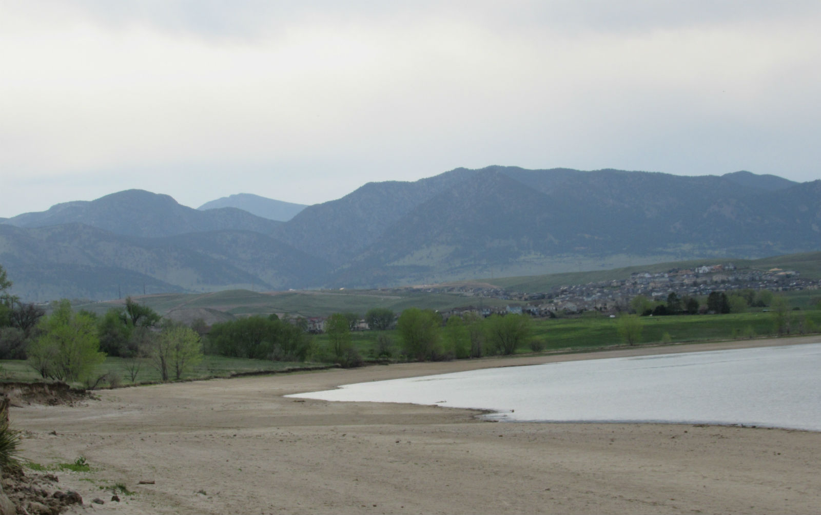 Standley Lake in Westminster. The ongoing drought, which shows no signs of easing this fall, has left Colorado's reservoirs at just 84 percent of average capacity, down from 112 percent of average last year at this time. Credit: Jerd Smith, Fresh Water News