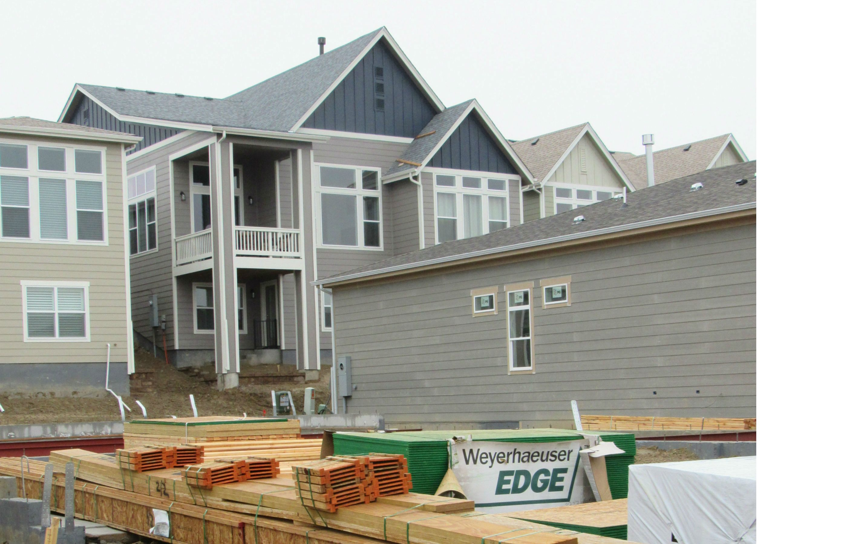 New homes going up in north west Arvada. The city has said it won't allocate more for water new homes in this area because it wants to save its remaining water supplies for commercial development. May 1, 2019 Credit: Jerd Smith