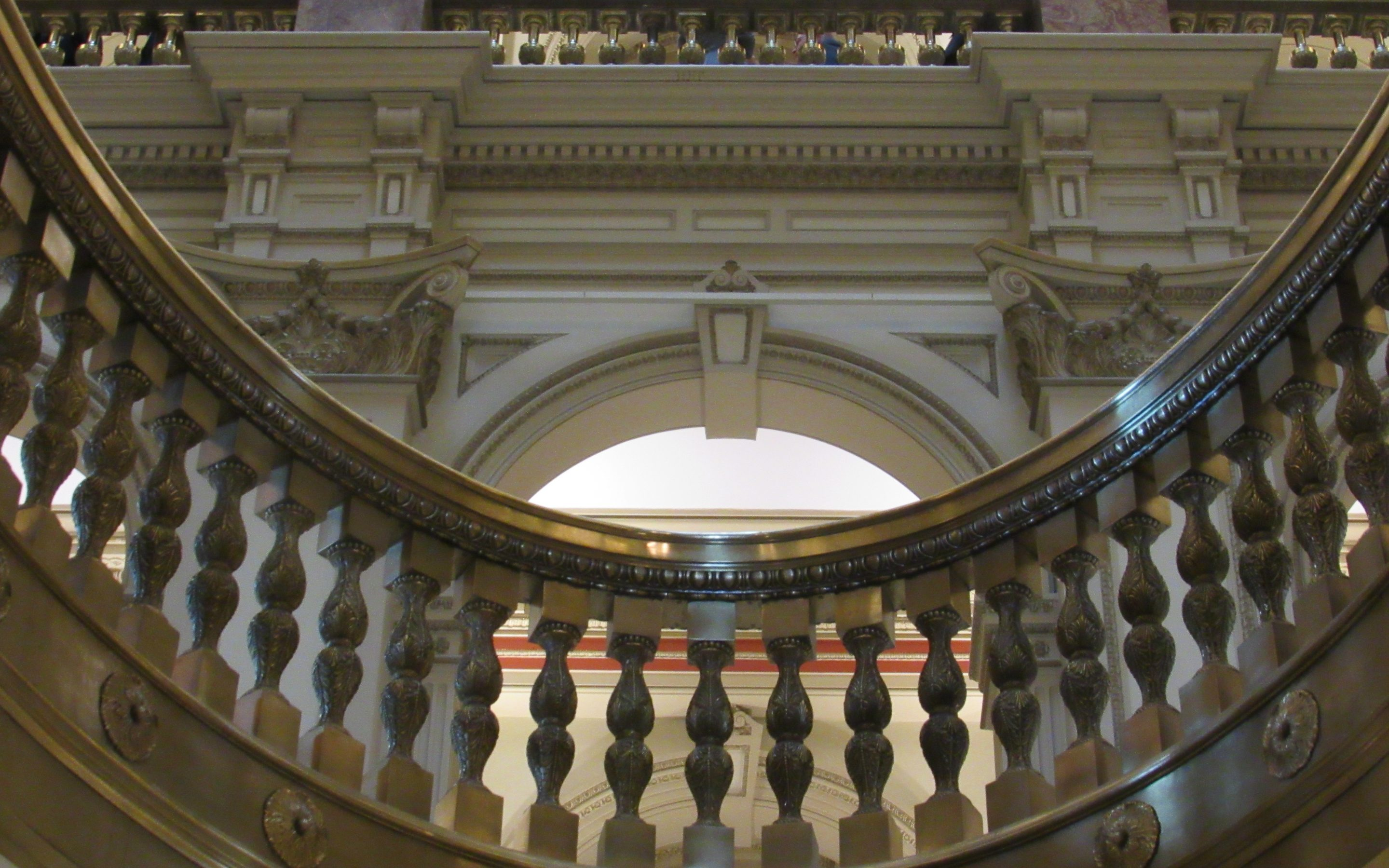 Inside the Colorado State Capitol.