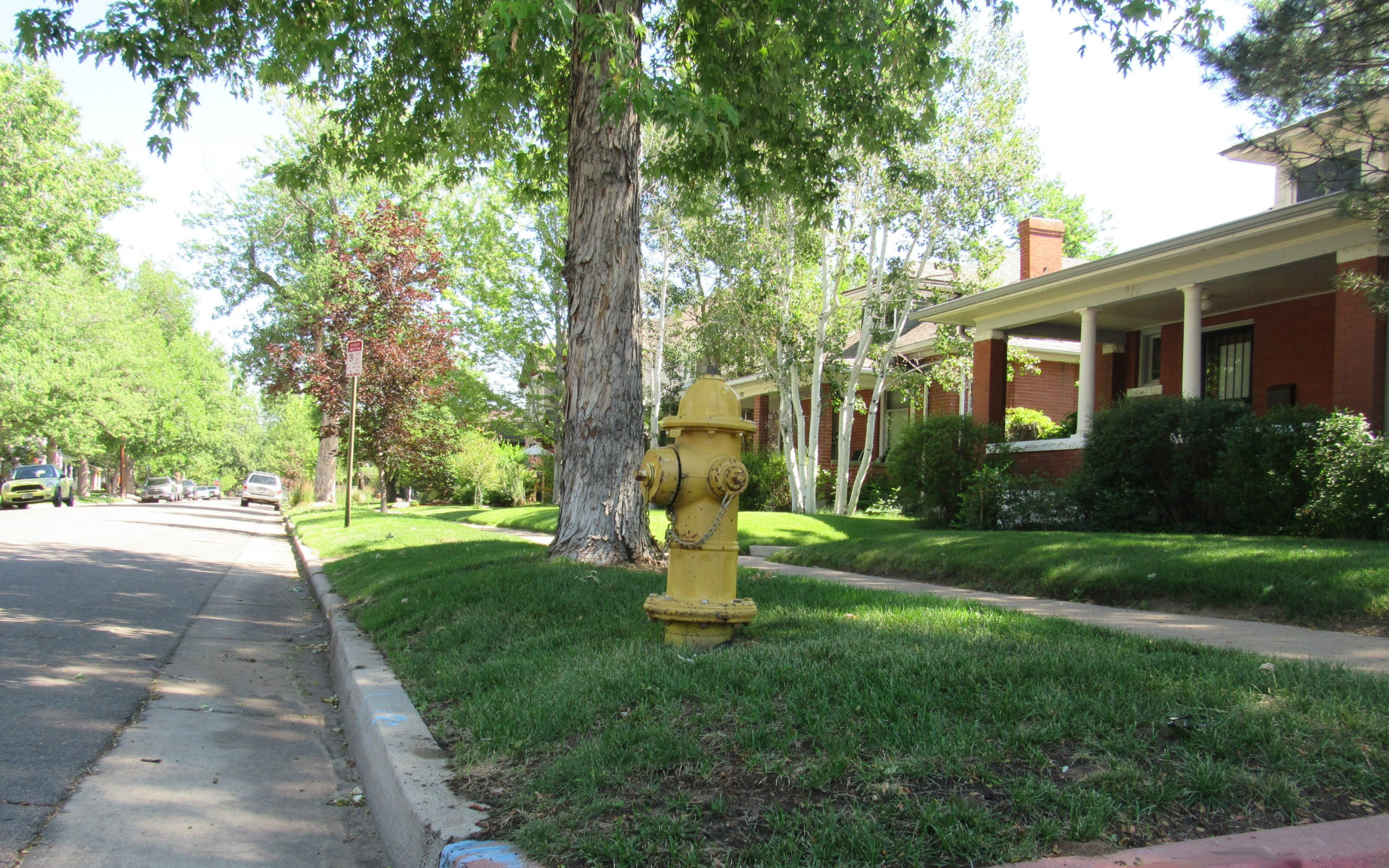 A water hydrant in Denver. Colorado residents, after years of drought, are learning to use less water.