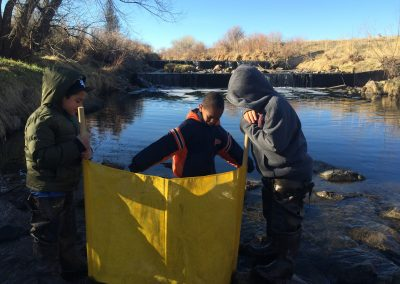 Tollgate students sample South Platte River