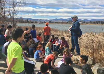 Centennial 3rd grade learns about One Water (South Platte)