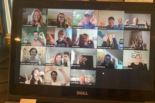Water Education Colorado's 2020 Water Leaders class meets virtually.